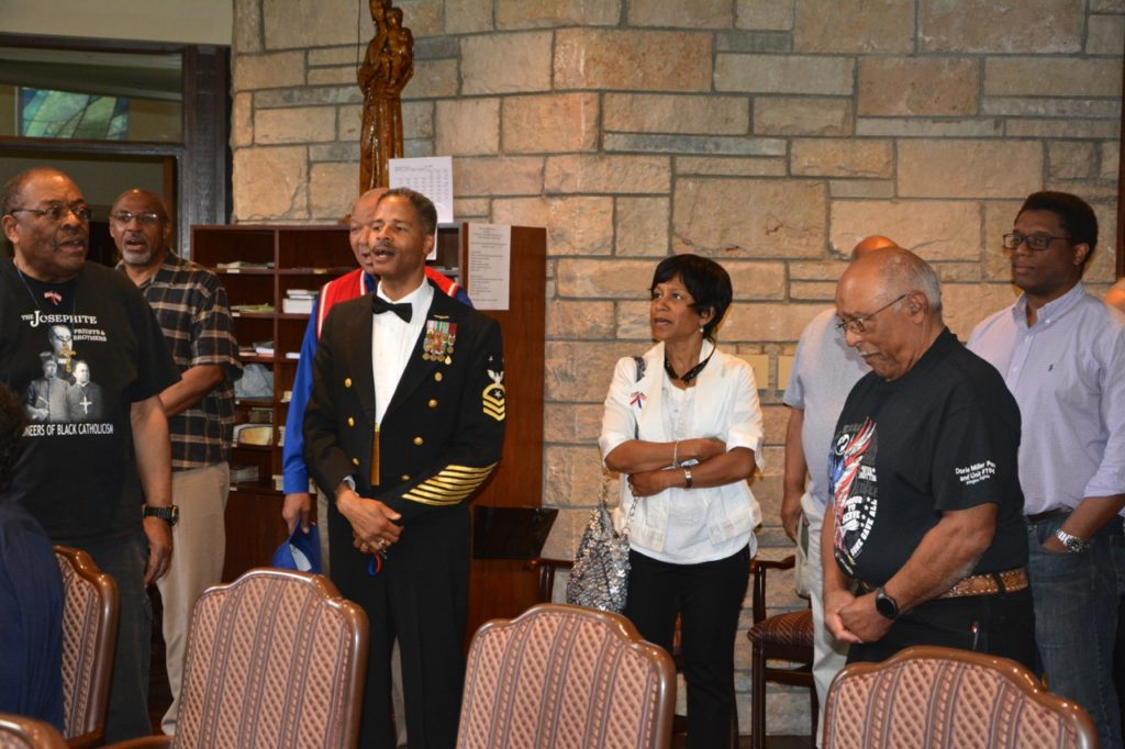 Knights of Peter Claver Council and Court 398 Honoring Josephite Military Veteran - May 29, 2017 58